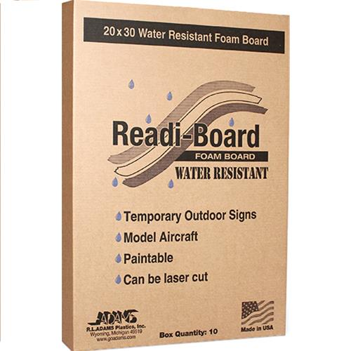 Wholesale Readi Board Water Resistant Foam Board 20x30