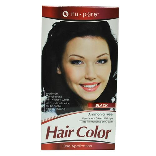 Wholesale Nu-Pore Hair Color - Black