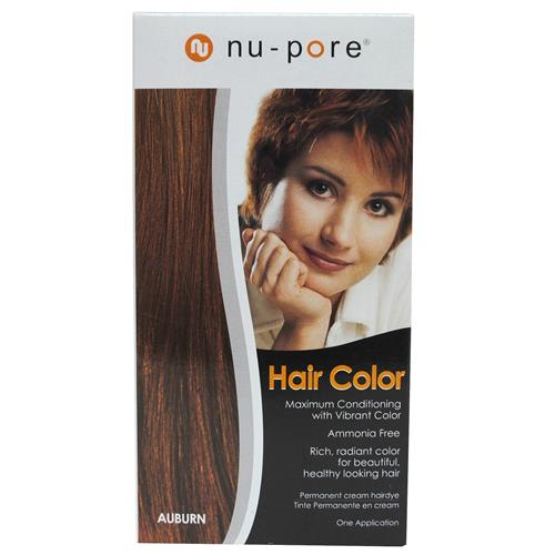 Wholesale Nu-Pore Hair Color - Auburn