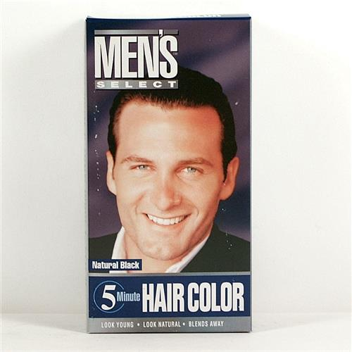 Wholesale Men's Select Hair Color Black