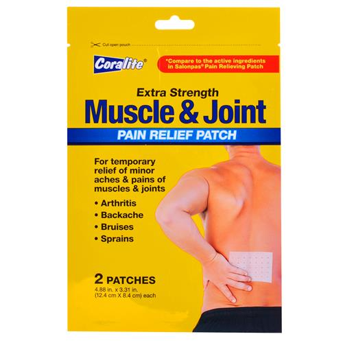 "Wholesale USE #90155C -Coralite Muscle Joint Pain Patch 4.88"" x 3.31"""