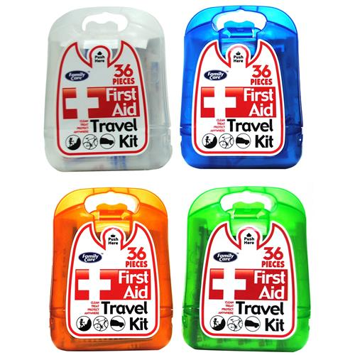 Wholesale Family Care First Aid Kit/Hard Plastic Case