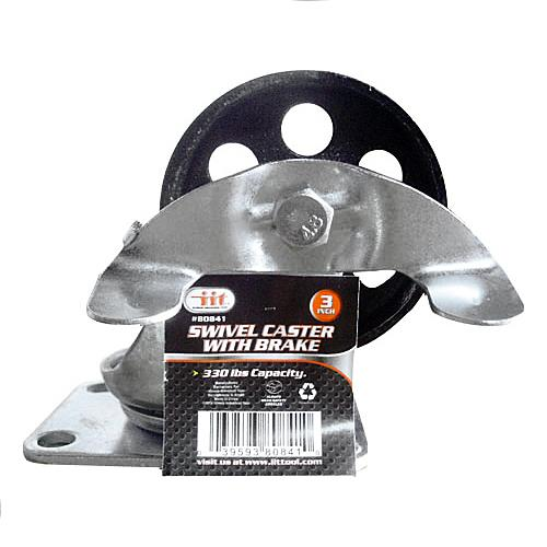 """Wholesale 3"""" SWIVEL CASTER WITH BRAKE"""