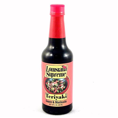 Wholesale Louisiana Supreme Teriyaki Sauce and Marinade