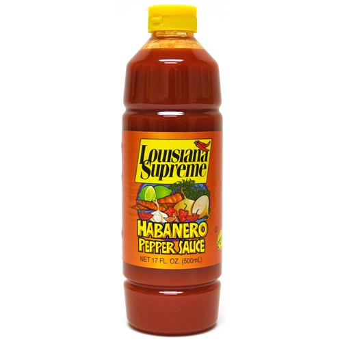 Wholesale Louisiana Supreme Habanero Pepper Sauce