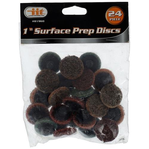 """Wholesale 24pc 1"""" Surface Prep Discs Assortment"""