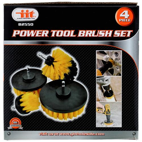 Wholesale 4pc POWER TOOL BRUSH SET
