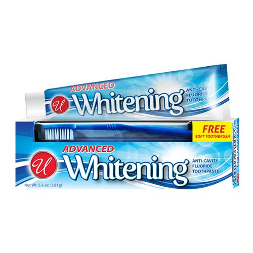 Wholesale 6.4 oz Whitening Toothpaste w/ free toothbrush