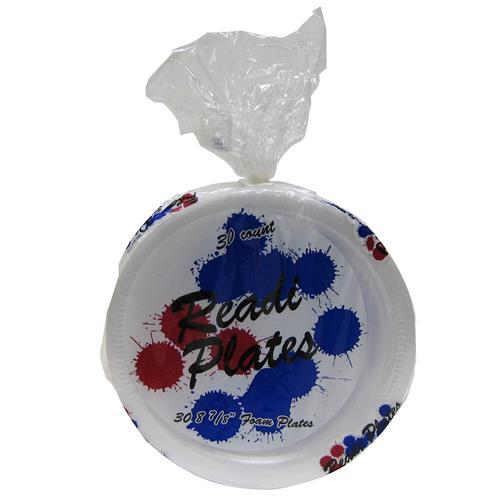 "Wholesale Readi 8-7/8"" Foam Plates"