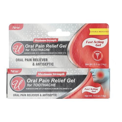 Wholesale ORAL PAIN RELIEF GEL .5OZ