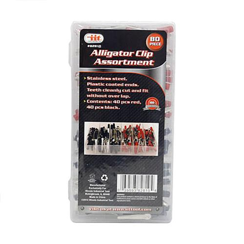 Wholesale 80pc Alligator Clip Assortment
