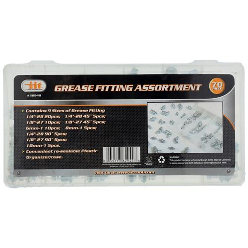 Wholesale 70pc Grease Fitting Assortment