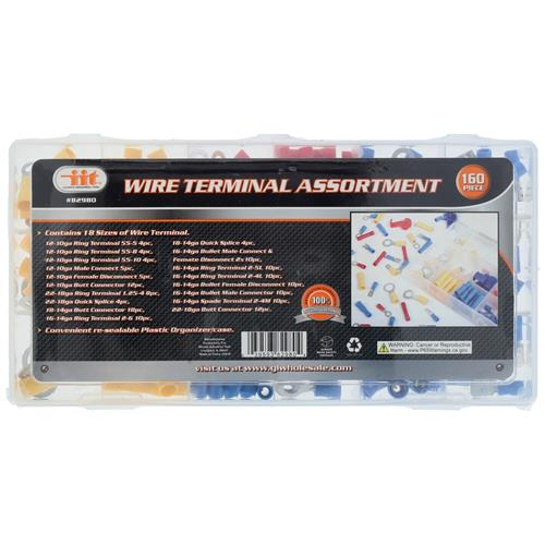 Wholesale 160pc WIRE TERMINAL ASSORTMENT