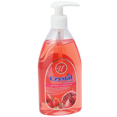 Wholesale HAND SOAP CLEAR STRAWBERRY & POMEGRANATE