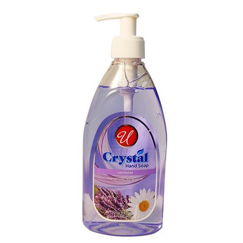 Wholesale 13.5oz HAND SOAP CLEAR LAVENDER