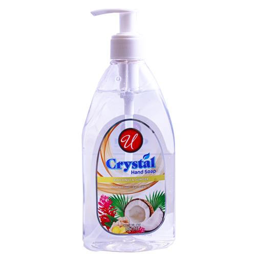 Wholesale HAND SOAP CLEAR COCONUT & GINGER