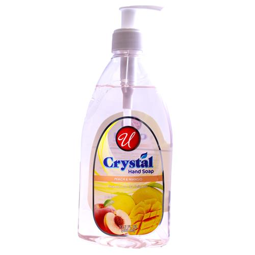 Wholesale HAND SOAP CLEAR PEACH & MANGO