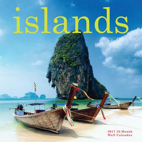 Wholesale 2017 ISLANDS MINI WALL CALENDA