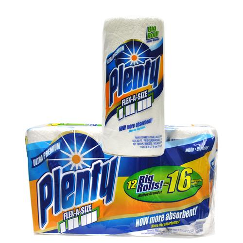 Wholesale Plenty Paper Towel Flex-A-Size 121 Sheets