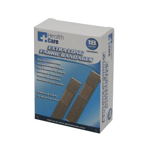Wholesale 18ct Extra Long Fabric Bandages