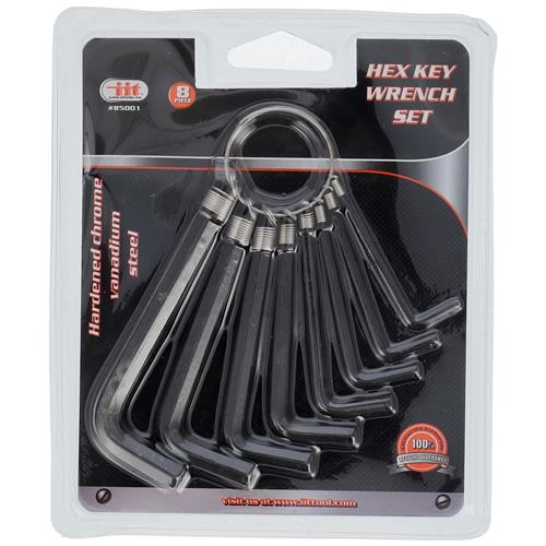 Wholesale 8PC Hex Key Wrench SAE Set