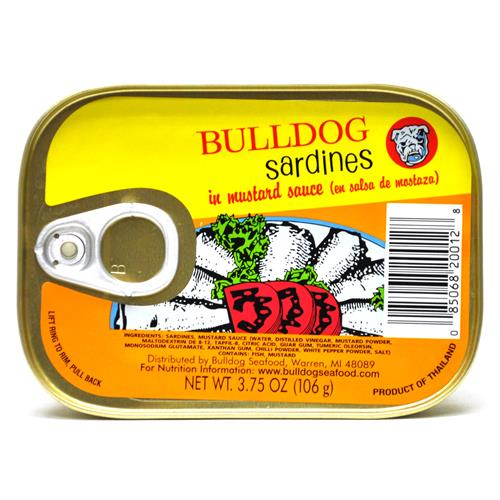 Wholesale Bulldog Sardines in Mustard Sauce