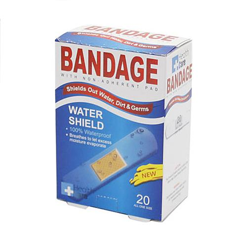 Wholesale 20pk CLEAR WTRPRF BANDAGES