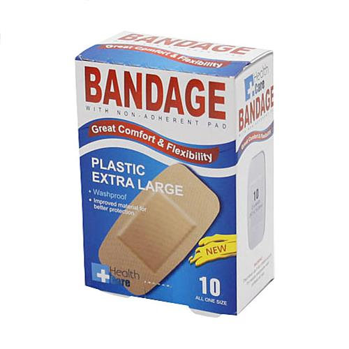 "Wholesale 10pk 4""x2"" XL SHEER BANDAGES"