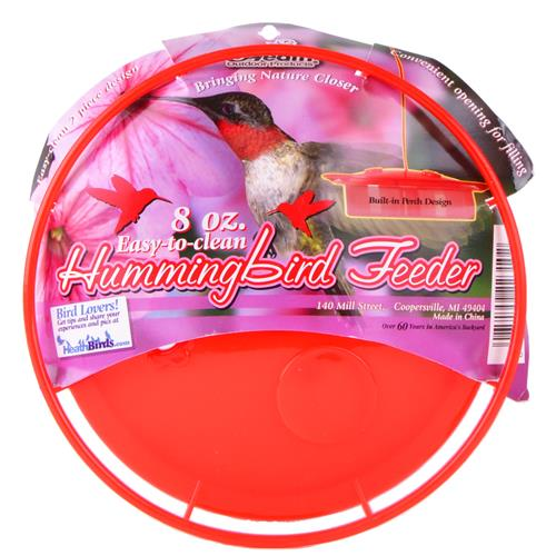 "Wholesale Hummingbird Feeder Saucer 6"" x 1.75"" with Wire Hanger"