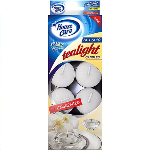Wholesale 10ct Tealight Candle Unscented White