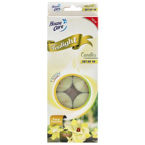 Wholesale 10ct Tealight Candle Vanilla