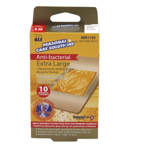 Wholesale 10pc XL ANTIBAC SHEER BANDAGES