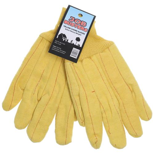 Wholesale Yellow Chore Heavy Duty Work Glove Large