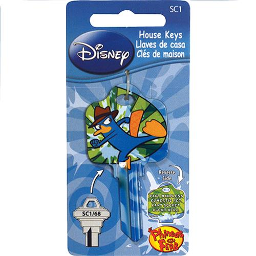 Wholesale Phineas & Ferb  Key Blank - Agent P - SC1
