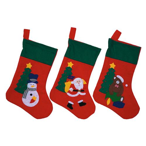 Wholesale Embroidered Stocking Cuff Style 3 Assorted