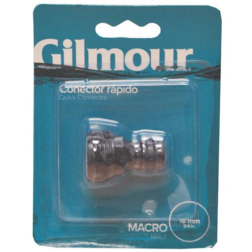 "Wholesale GILMOUR 3/4"" MALE QUICK CONNECTOR"