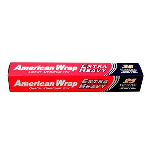 "Wholesale American Wrap Xtra Heavy Aluminum Foil 12"""" x 25'"