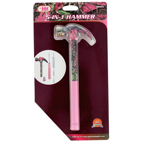 Wholesale LADY'S CAMO 5-IN-1 HAMMER