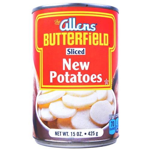 Wholesale Allen's Sliced Potatoes Exp 1/16