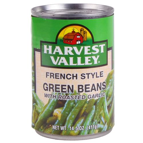 Wholesale Harvest Valley Green Beans French Style w/Garlic E