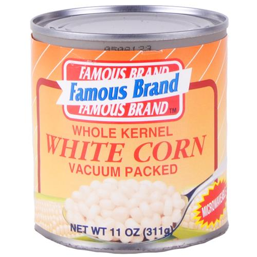 Wholesale Famous Brand White Whole Kernel Corn Vacuum Pack Expires 9/15