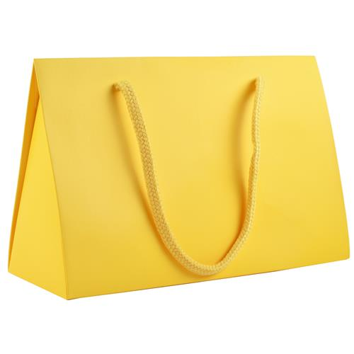 "Wholesale Large Purse Gift Box 10"" x 4"" x 6.75"" Yellow"