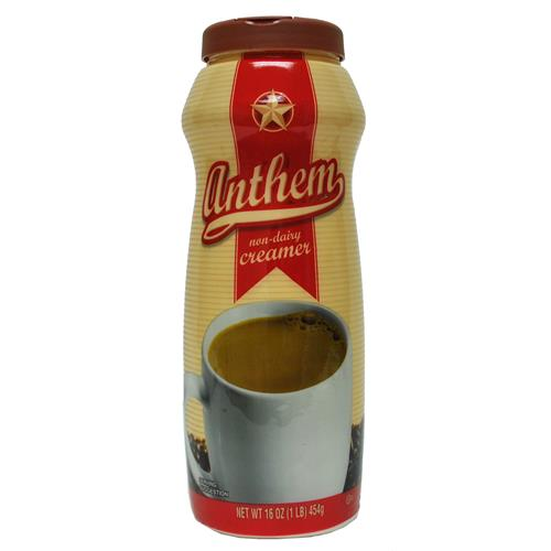 Wholesale Anthem Non-Dairy Coffee Creamer  Exp 11/2012