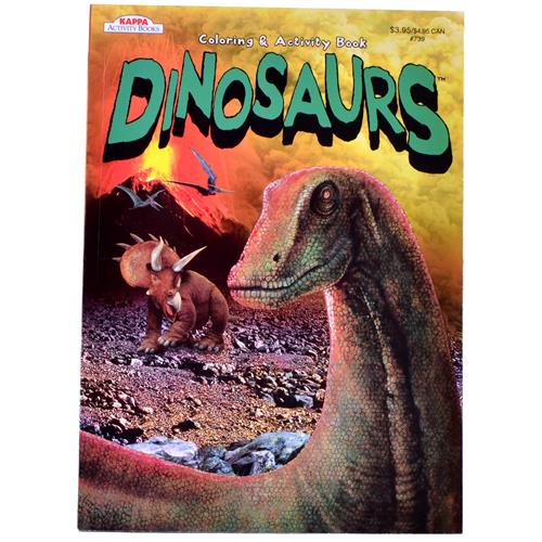 Wholesale Dinosaurs Coloring & Activity Book