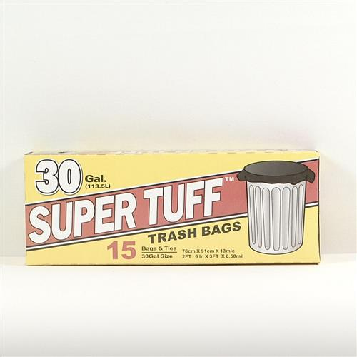 Wholesale Super Tuff Trash Bags 30 Gallon