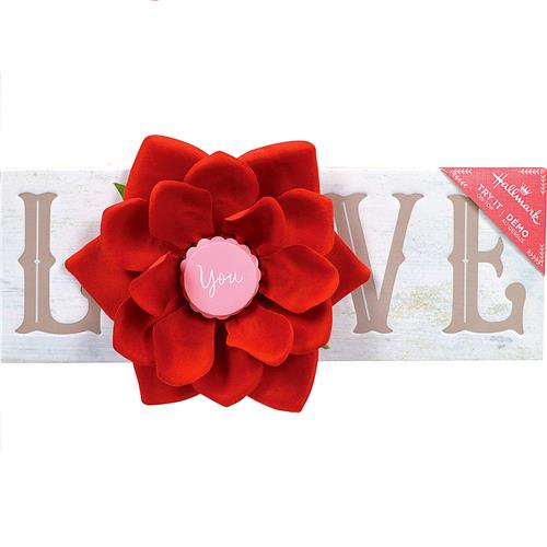 Wholesale BLOSSOMING ROSE LOVE DECORATION 10x3.5""