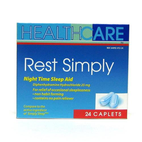Wholesale Health Care Rest Simply Caplets