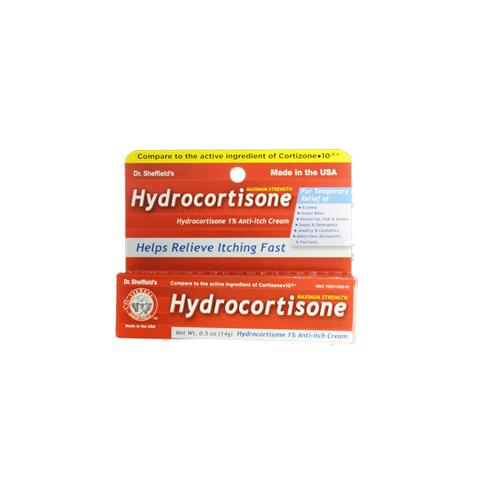 Wholesale Sheffield 1% Maximum Strength Hydrocortisone Anti-itch cream (CortIizone 10)