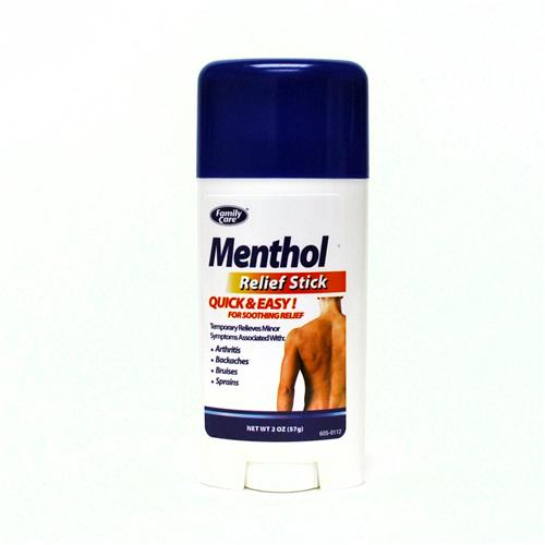 Wholesale Family Care Menthol Hot & Cold Pain Relief Stick Temporarily out of stock