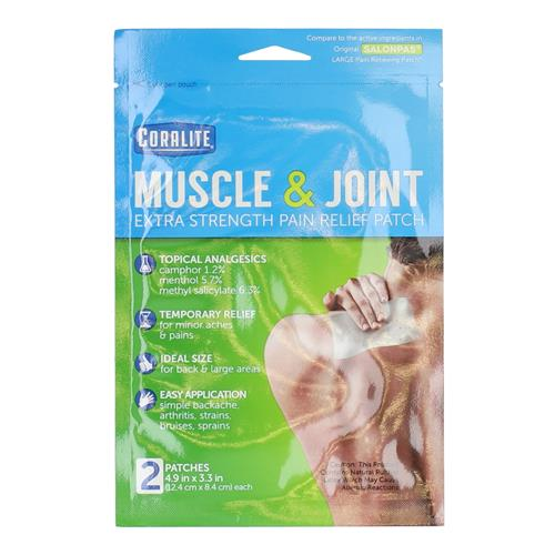 "Wholesale Coralite Muscle Joint Pain Patch 4.88"" x 3.31"""
